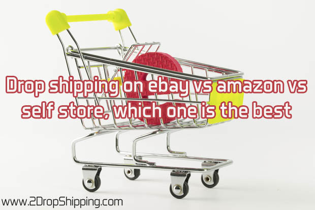 Drop shipping on ebay vs amazon vs self store!
