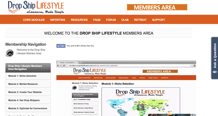 dropship-lifestyle-review-membersarea